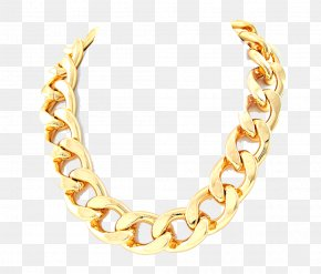 Thug Life Gold Chain Image - Necklace Earring Gold Chain PNG