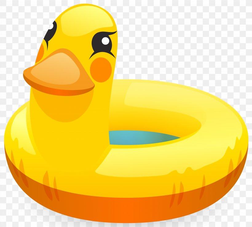 Swim Ring Swimming Pool Clip Art, PNG, 5877x5288px, Swim Ring, Beak, Bird, Clip Art, Duck Download Free