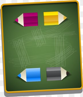 Vector Painted Green Chalkboard - Blackboard Learn PNG