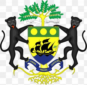 Usa Gerb - Coat Of Arms Of Gabon Flag Of Gabon Congo PNG