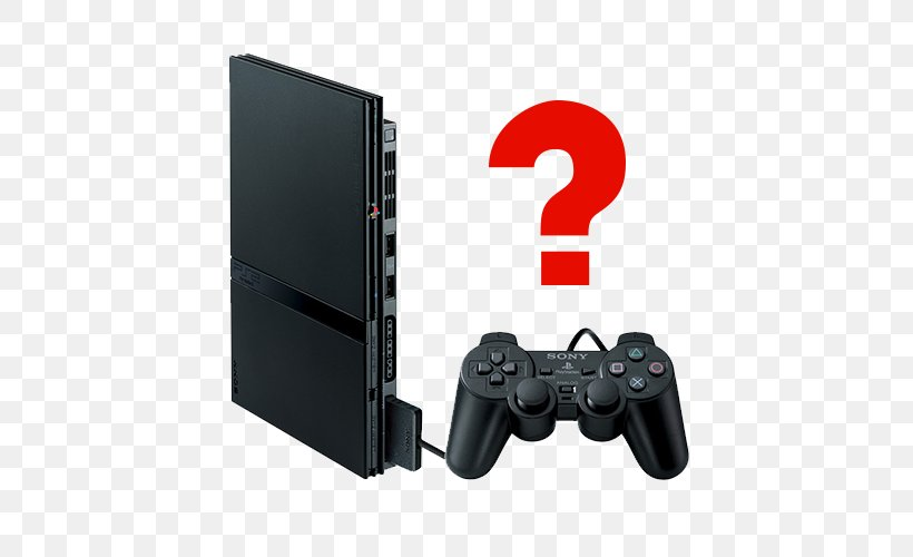 Sony PlayStation 2 Slim Sony PlayStation 3 Slim Video Game Consoles, PNG, 500x500px, Playstation 2, All Xbox Accessory, Dualshock, Electronic Device, Electronics Download Free