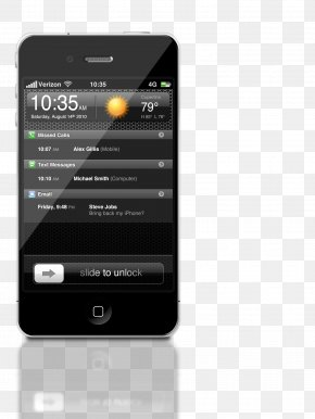 Mobile Phone Interface - IPhone 4S IPhone 3GS PNG