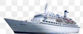 Large Ships - Cruise Ship PNG