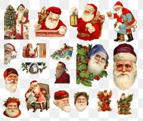 Santa Claus Creative - Ded Moroz Snegurochka Santa Claus Christmas Ornament PNG