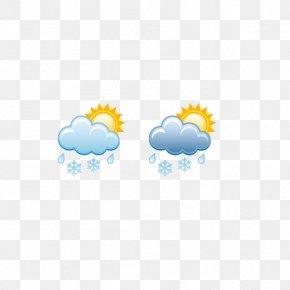 Weather Symbols,Cloudy, Sleet - Weather Rain And Snow Mixed Rain And Snow Mixed Cloud PNG