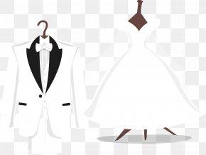 Vector Wedding - Tuxedo Wedding Dress Suit PNG