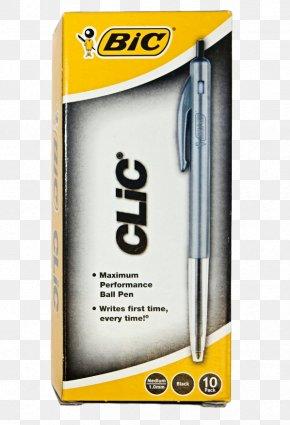 Pen - Paper Ballpoint Pen Bic Cristal PNG