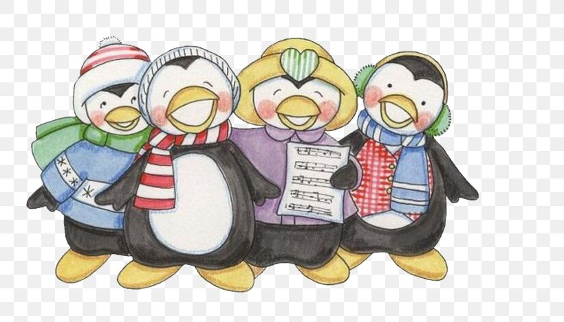 Penguin Painting Christmas Drawing, PNG, 760x469px, Penguin, Artist Trading Cards, Bird, Blog, Christmas Download Free