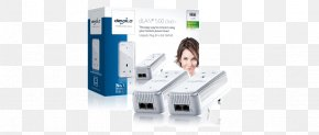 Internet Access - Power-line Communication Devolo PowerLAN HomePlug Adapter PNG