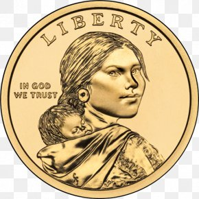 Coin - Sacagawea Dollar Lewis And Clark Expedition Dollar Coin United States Dollar PNG