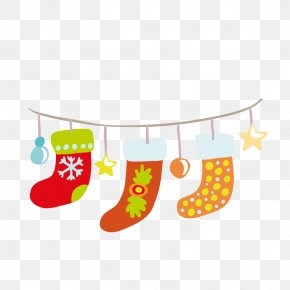 Christmas Stocking - Sock Christmas Stocking Clip Art PNG