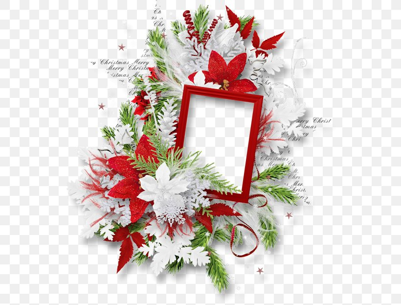 Christmas Picture Frames Candy Cane Clip Art, PNG, 567x623px, Christmas, Artificial Flower, Candy Cane, Christmas Decoration, Christmas Ornament Download Free