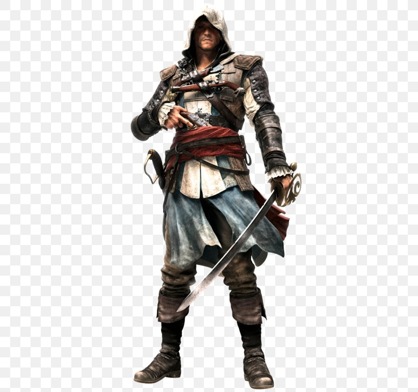 Assassin's Creed IV: Black Flag Assassin's Creed III Assassin's Creed: Origins Assassin's Creed Rogue Edward Kenway, PNG, 439x768px, Edward Kenway, Action Figure, Armour, Assassins, Character Download Free
