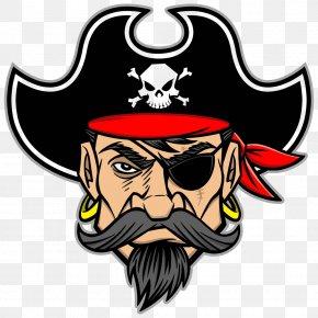 Pirate Avatar - Piracy Mascot Royalty-free Clip Art PNG