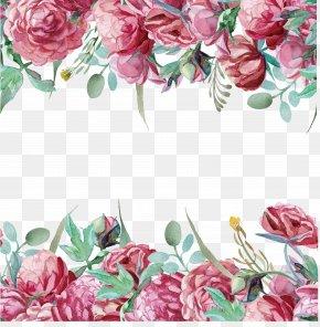 Flower Border - Flower Computer File PNG