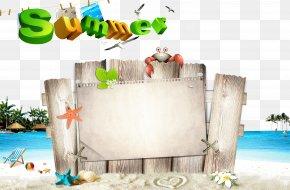 Summer Poster Background - 110-719 Poster Adobe Illustrator PNG