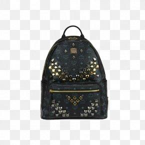 Barbie Black Bow Package - Backpack MCM Worldwide Handbag Leather PNG