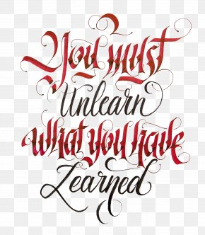 Quotation - Calligraphy Quotation Lettering Art Text PNG