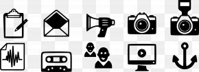 Monochrome - Communication Symbol Clip Art PNG