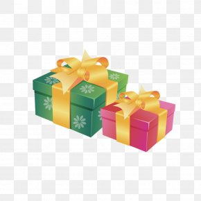 Gift Boxes Picture Material - Gift Card Decorative Box PNG