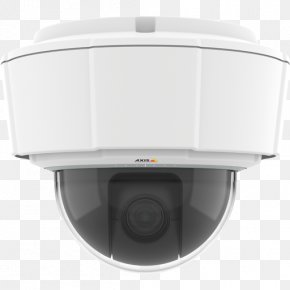 Pan–tilt–zoom Camera - Pan–tilt–zoom Camera IP Camera Axis Communications Axis M5525-E PNG