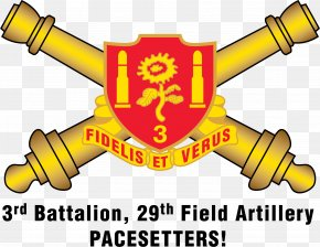 Artillery - 29th Field Artillery Regiment Battalion United States Army PNG