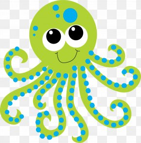 Octopus - Deep Sea Creature Aquatic Animal Clip Art PNG