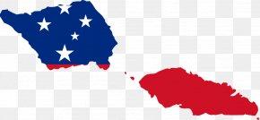 Samoan Cliparts - Flag Of Samoa World Map PNG