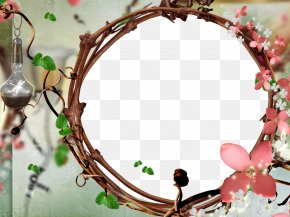 Photo Frame - Picture Frames Floral Design Flower Photography Wreath PNG