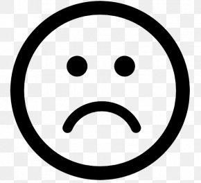 Sad Emoji - Symbol Arrow PNG