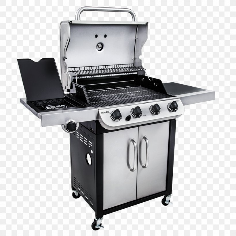 Barbecue Char-Broil Performance Series 463377017 Grilling Char-Broil Performance 4 Burner Gas Grill, PNG, 1000x1000px, Barbecue, Bbq Smoker, Charbroil, Charbroil Performance 463275517, Charbroil Truinfrared 463633316 Download Free