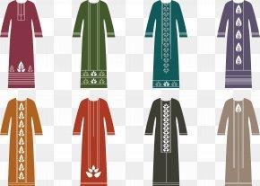 Islamic Style Dress Poster - Dress Muslim Abaya Islam PNG