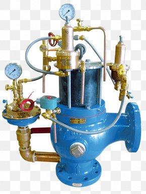 Water Flow Control Valve - Pilot-operated Relief Valve Pressure Valve Actuator PNG