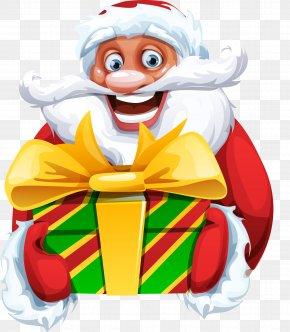 Santa Claus - Santa Claus Reindeer Christmas Happiness PNG