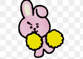 Sticker Easter Bunny - Easter Bunny Background PNG