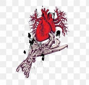 Vector Illustration Heart - T-shirt PNG
