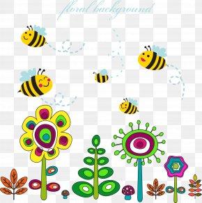 Vector Bee - Bee Euclidean Vector Clip Art PNG