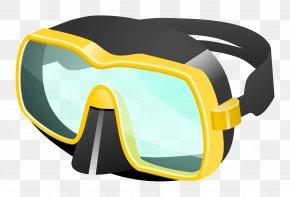 GOGGLES - Diving & Snorkeling Masks Scuba Diving Underwater Diving Diving Equipment Clip Art PNG