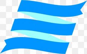 Electric Blue Azure - Blue Aqua Turquoise Line Azure PNG
