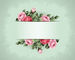 Wedding Green Background - Flower Picture Frame Idea Wallpaper PNG