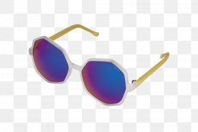 Sunglasses - Sunglasses KOMONO Goggles Mirror PNG