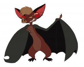 Bat - Bat Dog Animal Canidae Mammal PNG
