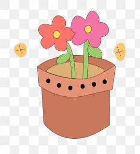 Flower - Flowerpot Cartoon Clip Art PNG