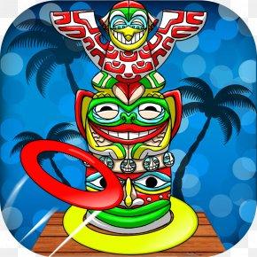 Tiki - Recreation Headgear Tiki M Character Font PNG