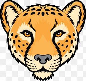 Cheetah - Cheetah Leopard Jaguar Tiger Drawing PNG