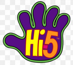 High 5 Cliparts - High Five Logo Television Show Clip Art PNG
