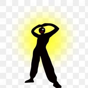 Man Standing Silhouette - Silhouette Man Clip Art PNG