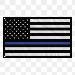 United States - Flag Of The United States Thin Blue Line The Thin Red Line Police Officer PNG