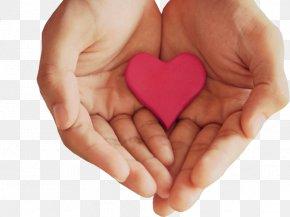 Heart - Hand Heart Desktop Wallpaper Love PNG