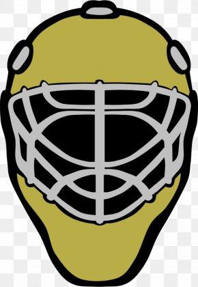 Hockey Goalie Clipart - Hockey Helmets Goaltender Mask Ice Hockey PNG